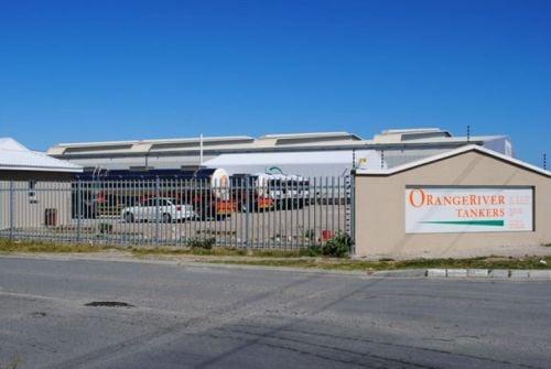 Oranje rivier premises