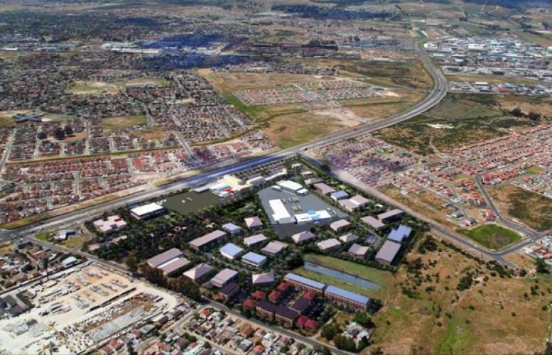 Saxdowne aerial view