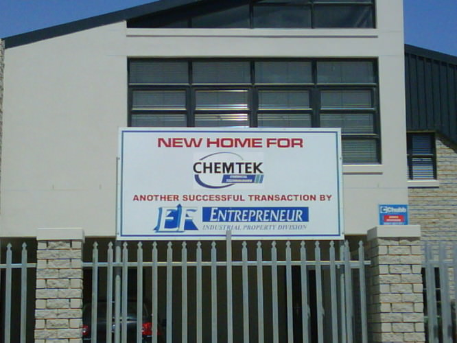 New Home for Chemtek EF property
