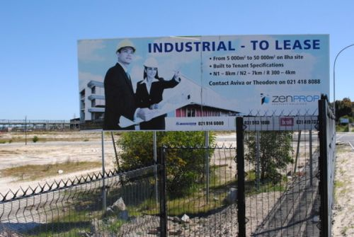 zevenwacht industrial to lease board